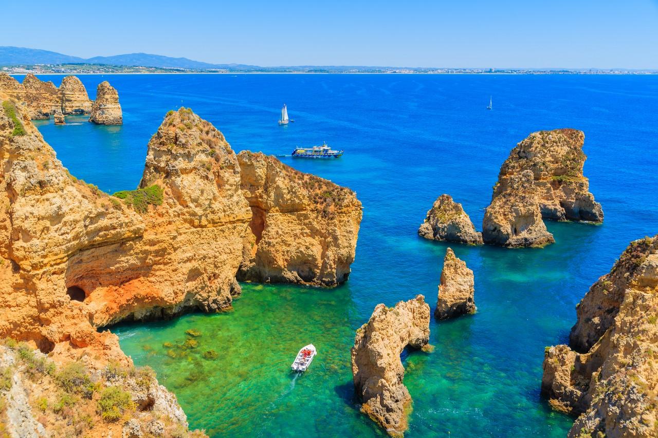 Ponta da Piedade, Algarve.