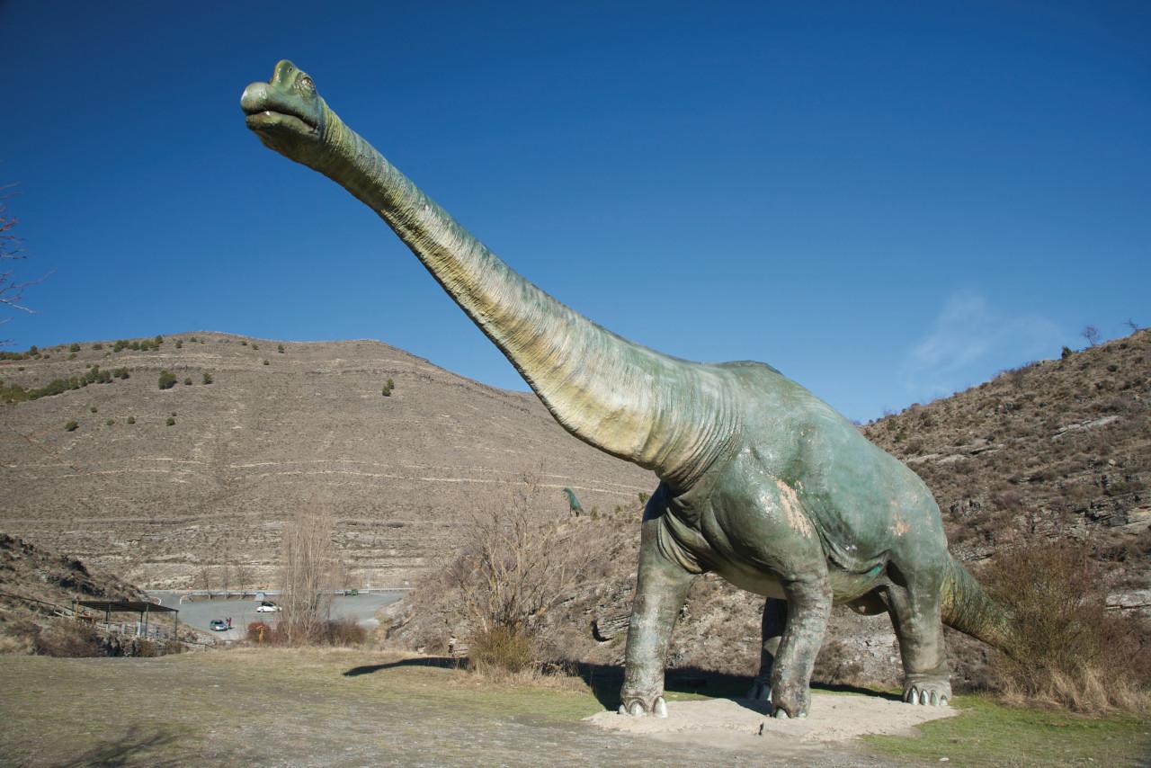 Route des Dinosaures.