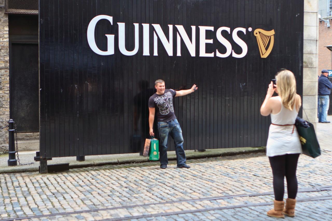 La brasserie Guinness, passage obligé des amateurs de bière! (© Lawrence BANAHAN - Author's Image))