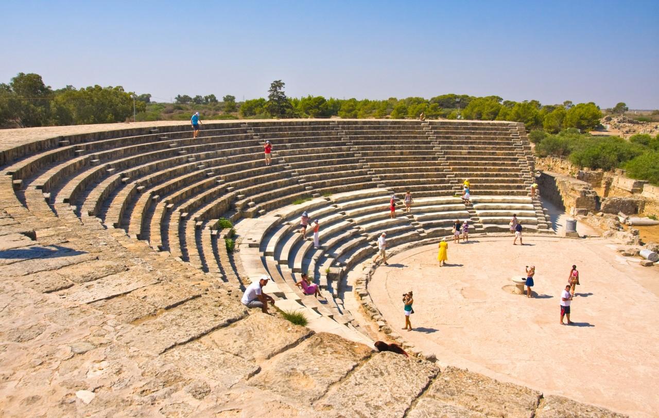 Le site antique de Salamine.