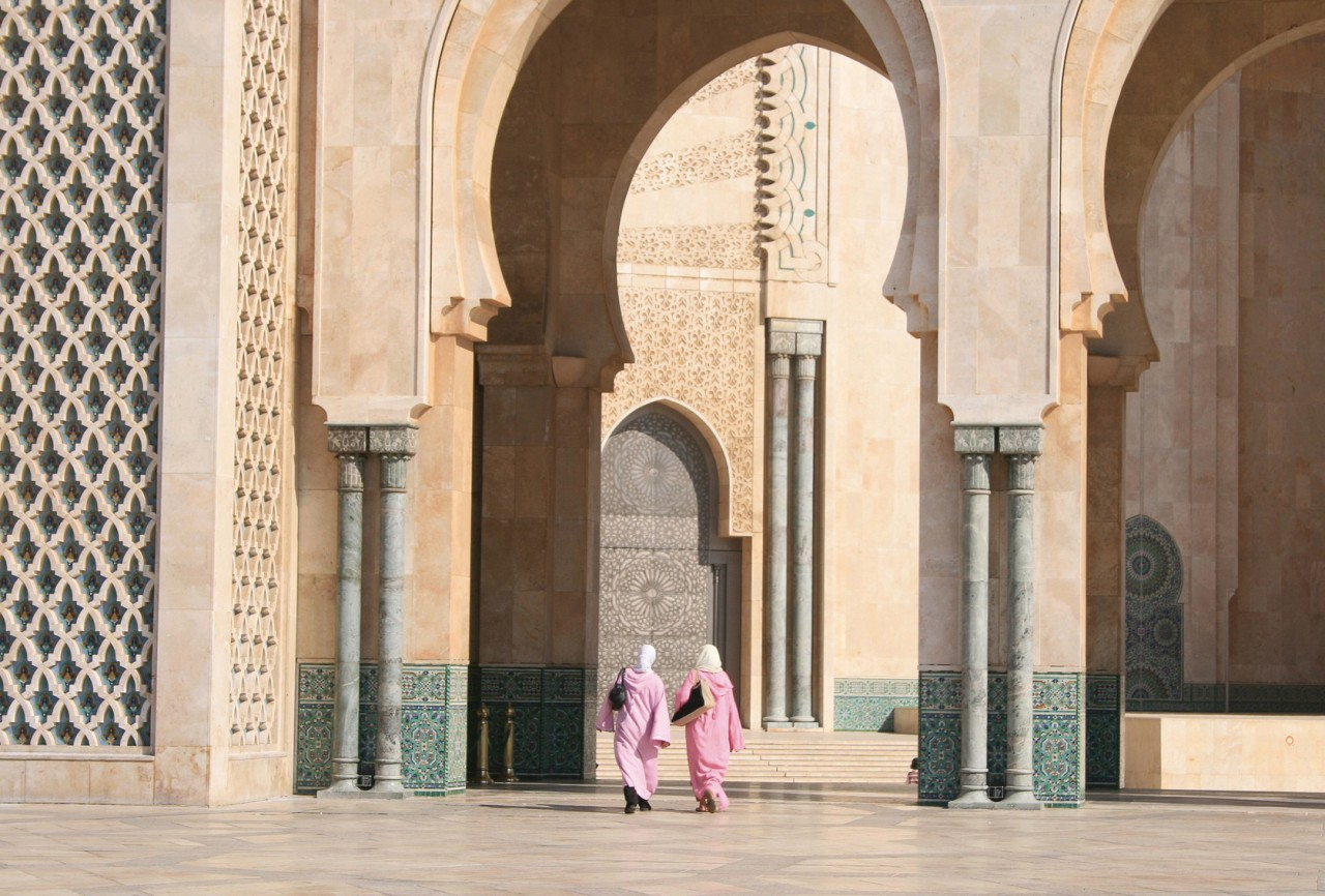 Hassan II Mosque.