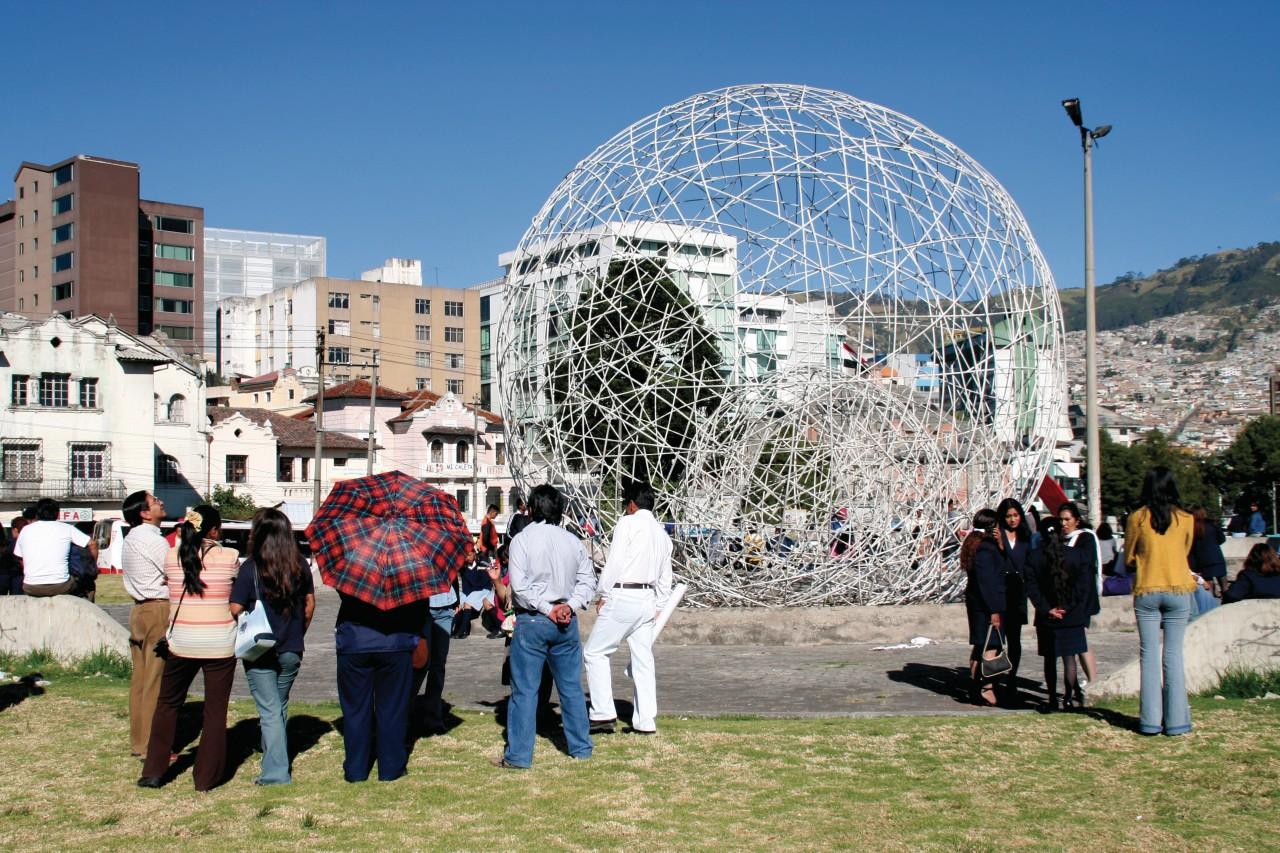 Rassemblement populaire au Parque El Arbolito. (© Stéphan SZEREMETA))