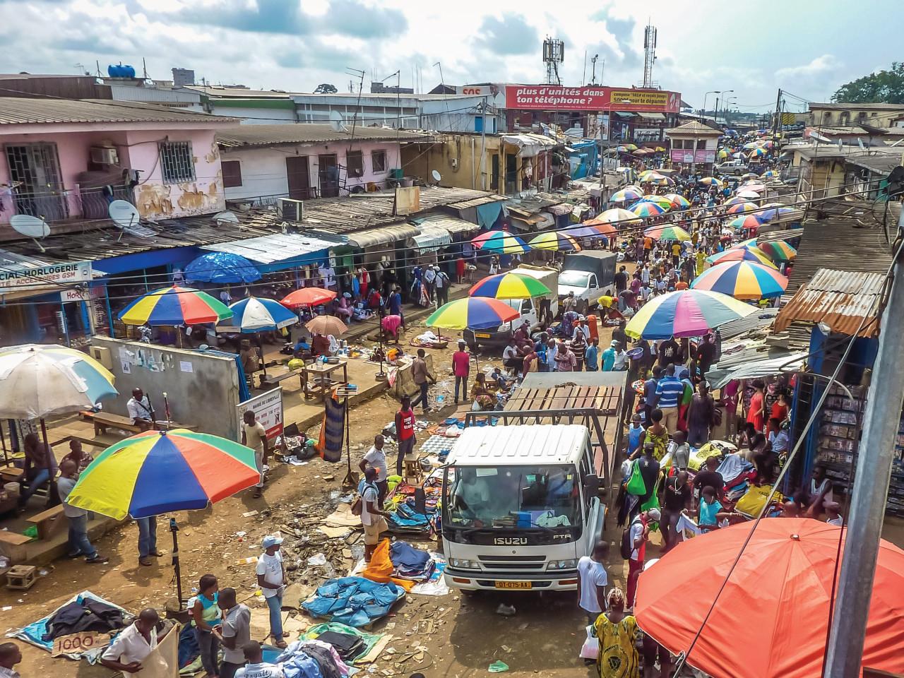 Jour de marché, Nairobi. (© cribea))