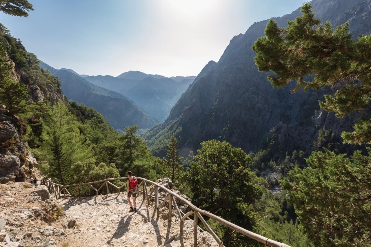 Les gorges de Samaria. (© Saro17))