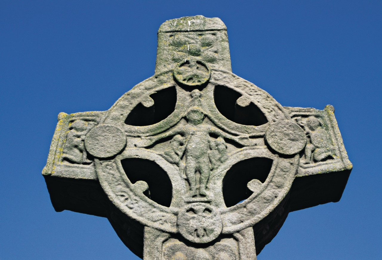 Croix celtique (© H.Fougère - Iconotec))