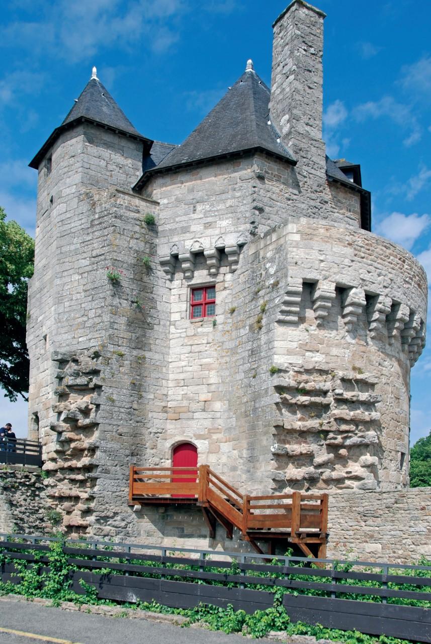 Tour du Connétable à Vannes. (© DIDIER VAN DER HAEGHEN - FILOPIX))