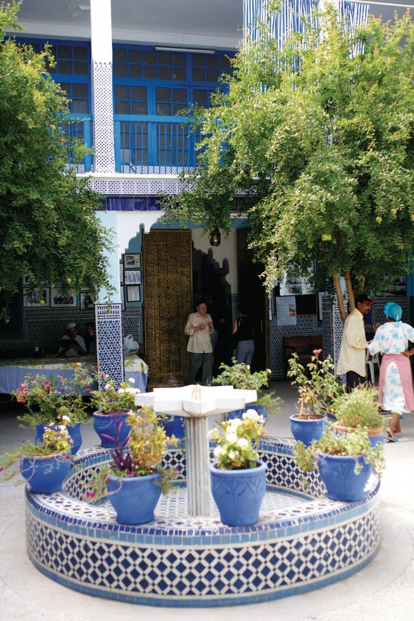 Synagogue Lazama, dans le quartier du Mellah. (© Sébastien CAILLEUX))