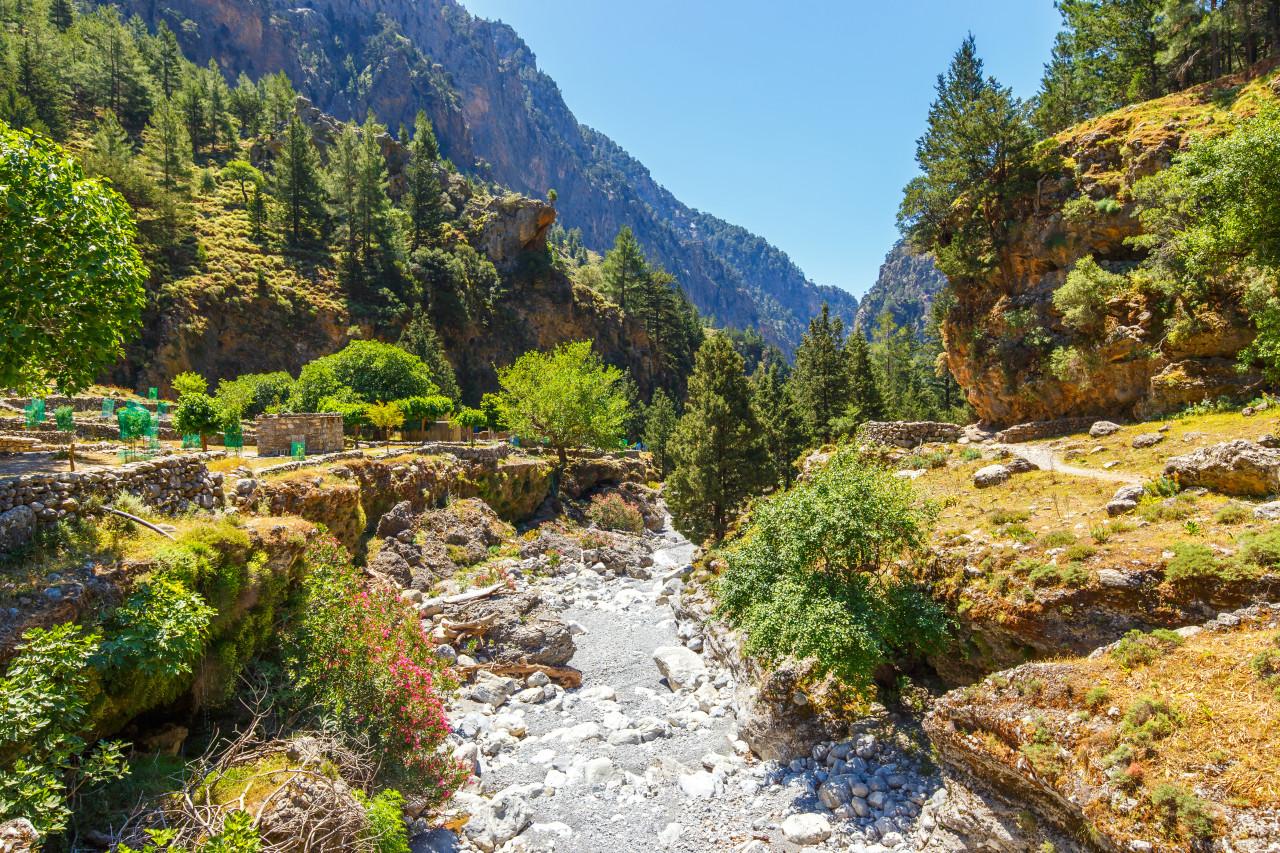 Les Gorges de Samaria. (© dziewul))