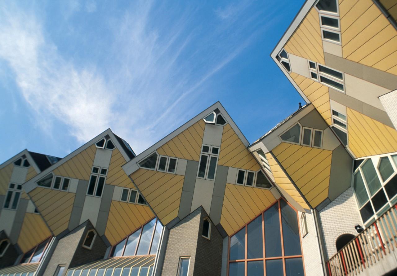 Kijk Kubus, las casas cúbicas de Piet Blom.