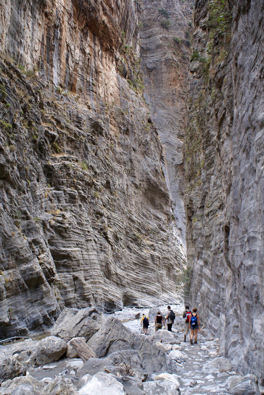 Randonnée dans les Gorges de Samaria. (© Tomasz Majewski))