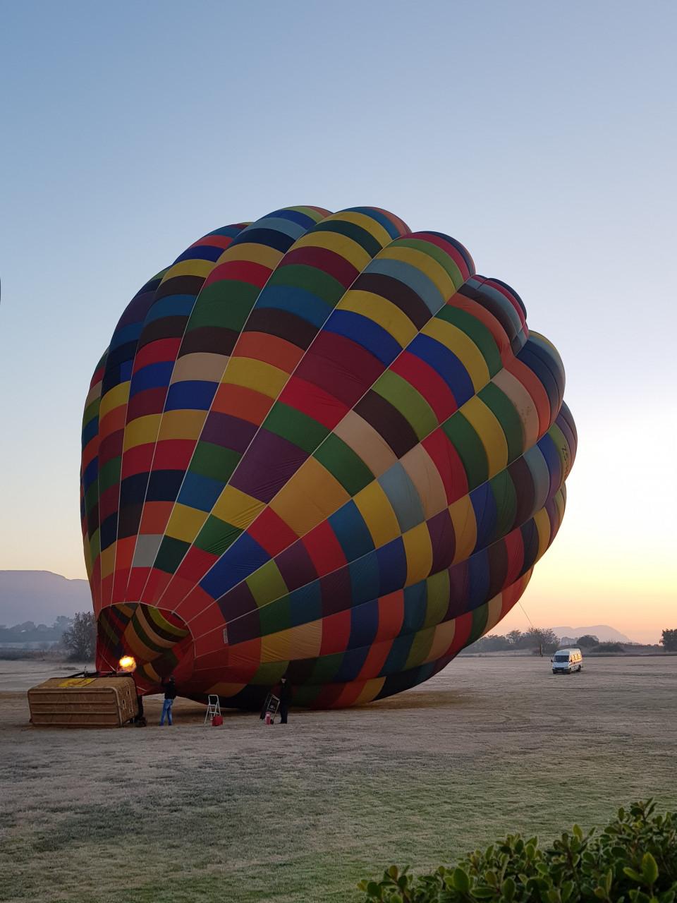 Virée en montgolfière. (© Chloé OBARA))