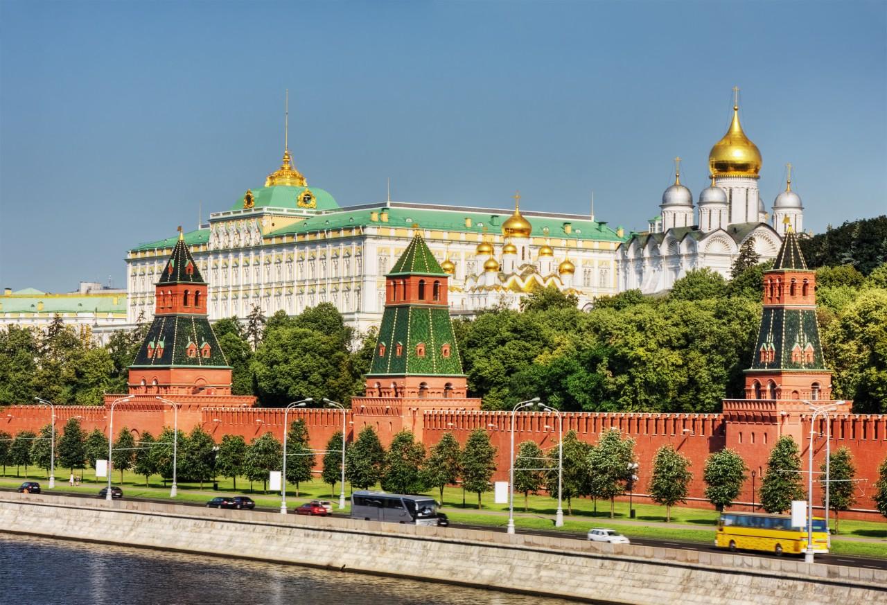 Gran Palacio del Kremlin.
