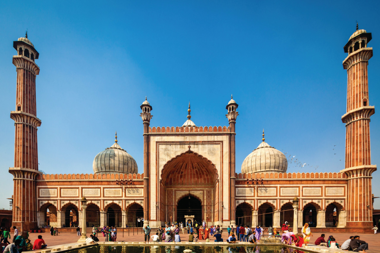 Mosquée Jama Masjid, Delhi. (© Mlenny - iStockphoto))