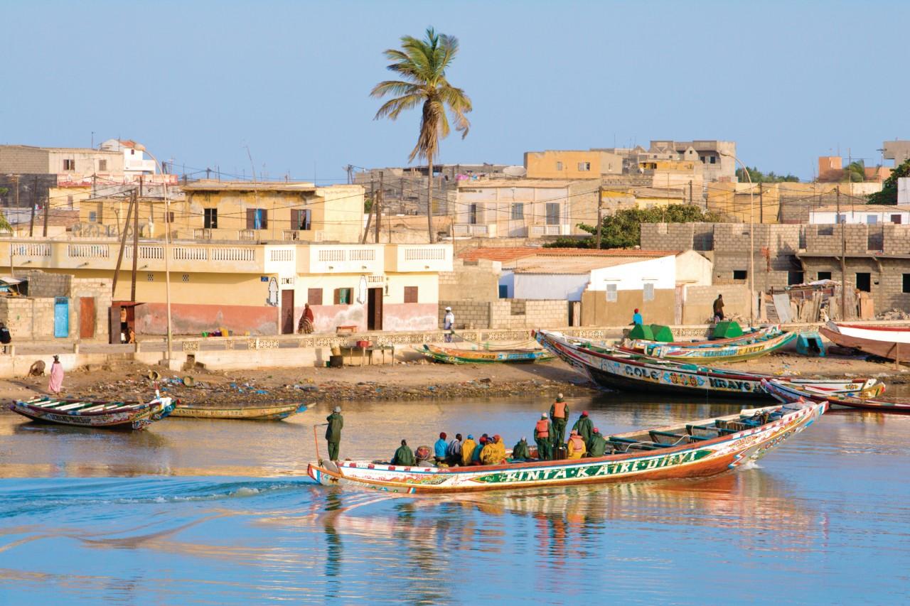 Ndar-Toute, village de pêcheurs. (© Author's Image))
