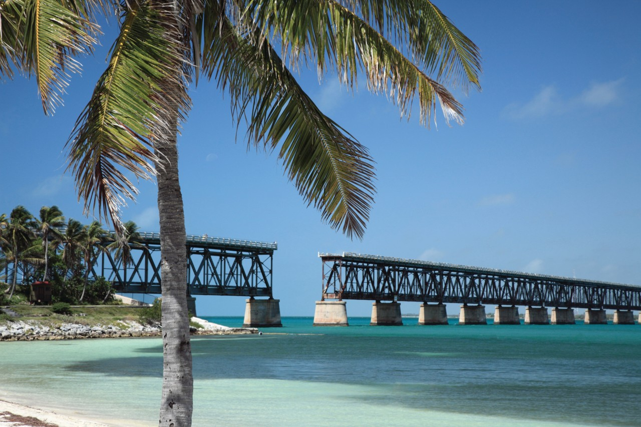 Bahia Honda Bridge.