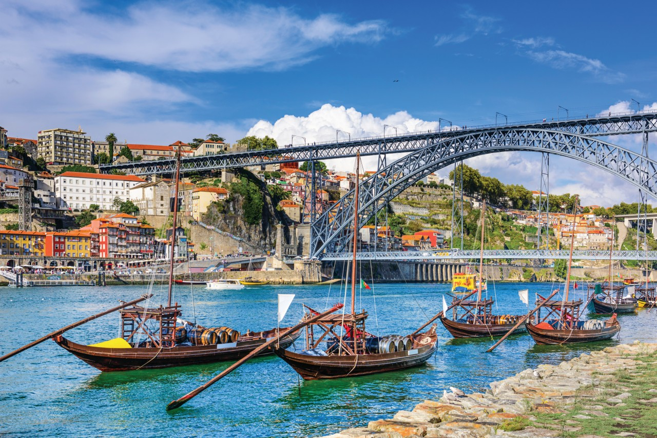 Paisaje de Oporto.