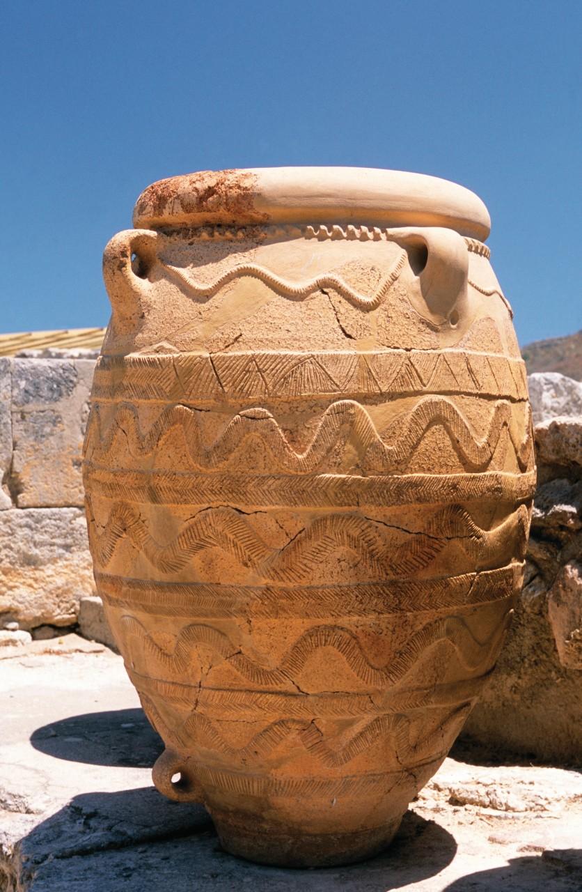 Amphore du site minoen de Cnossos. (© Author's Image))