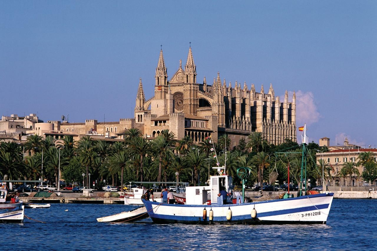 Cathédrale de Palma de Majorque.