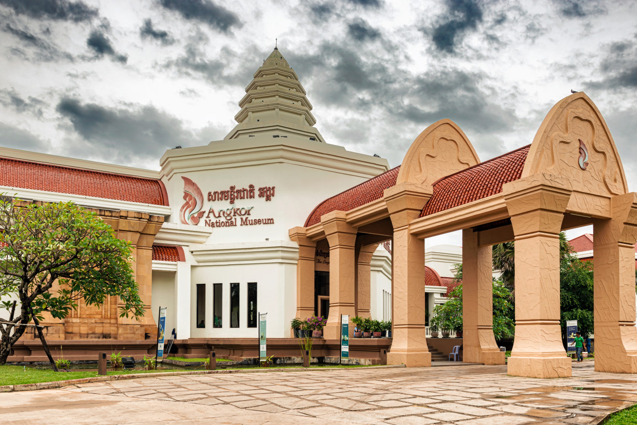 Entrée du Musée National d'Angkor. (© Marek Poplawski - Shutterstock.com))