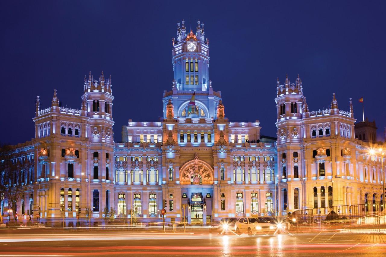Palais des Télécommunications de Madrid.