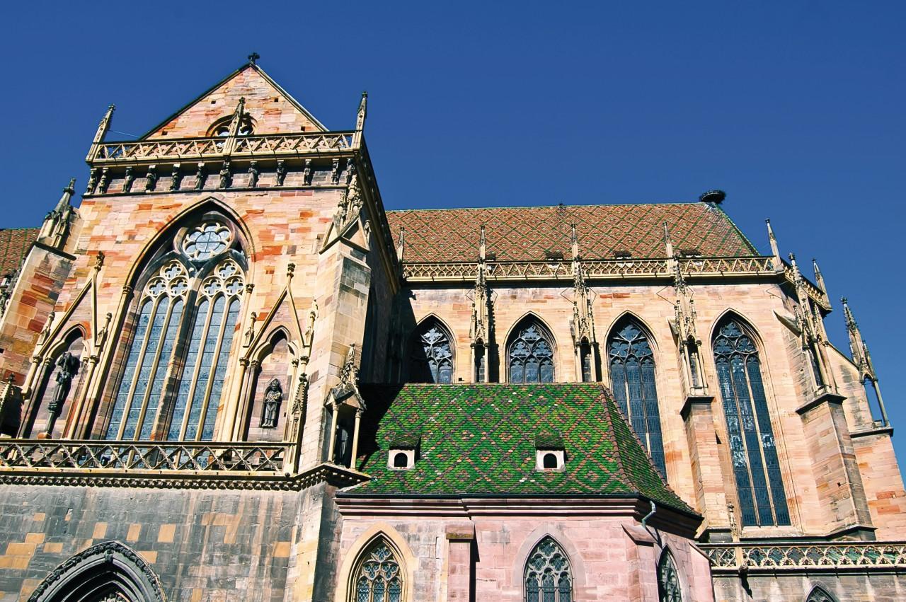 La Collégiale Saint-Martin de Colmar. (© Alexi TAUZIN - Fotolia))