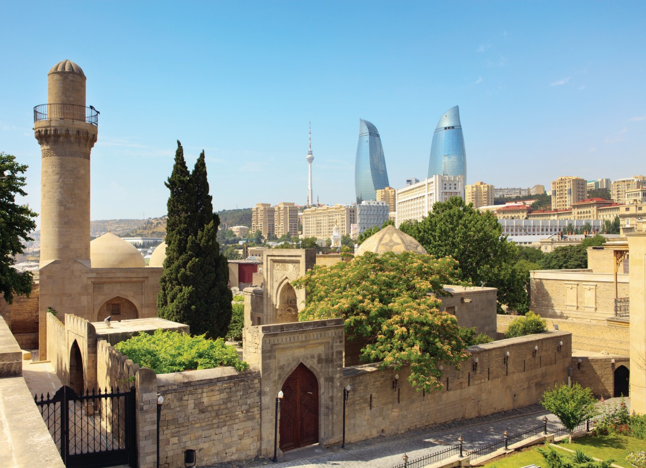Palacio de los Shahs Shirvan, Bakú.