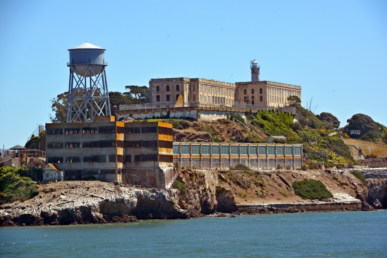 Ancienne prison d'Alcatraz.