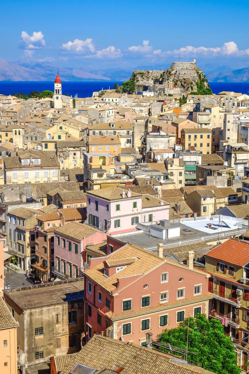 Panorama de la ville de Corfou. (© Calin Stan - Adobestock.com))
