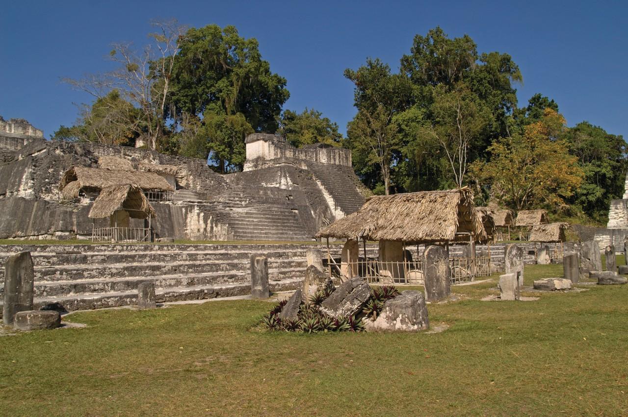 Acropole du site précolombien de Tikal. (© Orallef - iStockphoto.com))