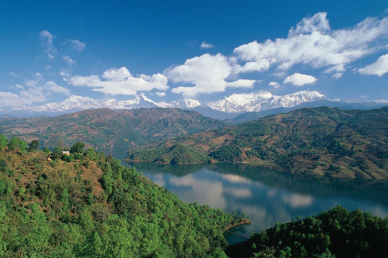 Lacs Begnas et Rupal. (© Author's Image))