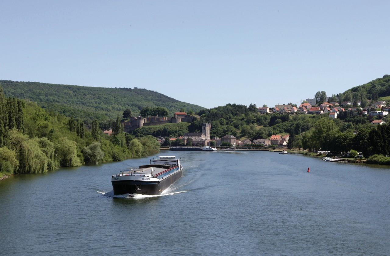 La Moselle à Sierck-les-Bains (© Jean-Claude Kanny - Moselle Tourisme))