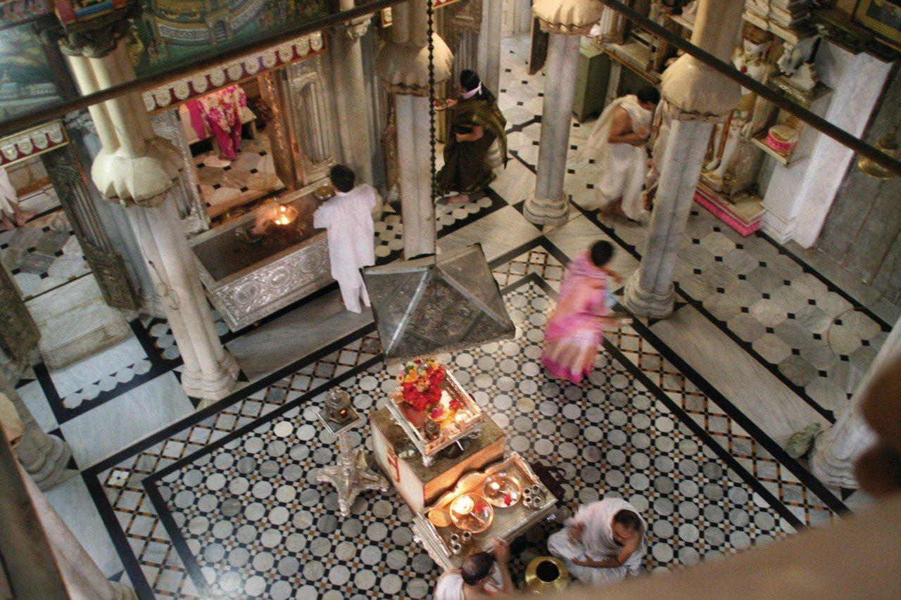 Le temple Jain.