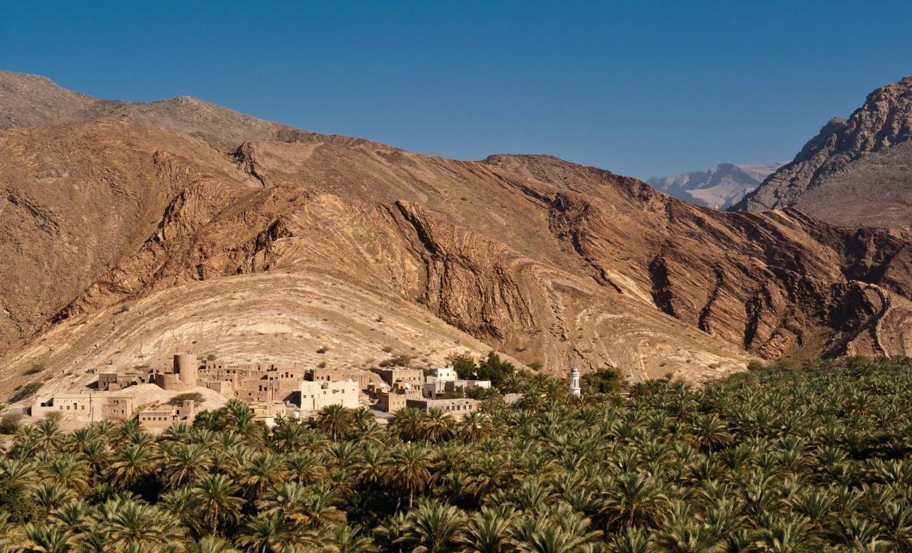 Pueblo de Birkat al-Mawz.