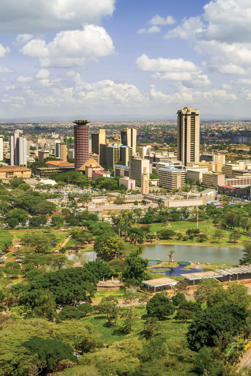 La ville de Nairobi. (© EunikaSopotnicka))
