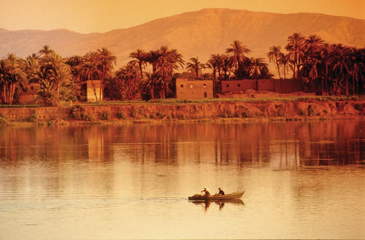 Dédié au dieu Amon-Ré, le temple de Luxor a été construit par Amenophis III. (© Sylvain GRANDADAM))