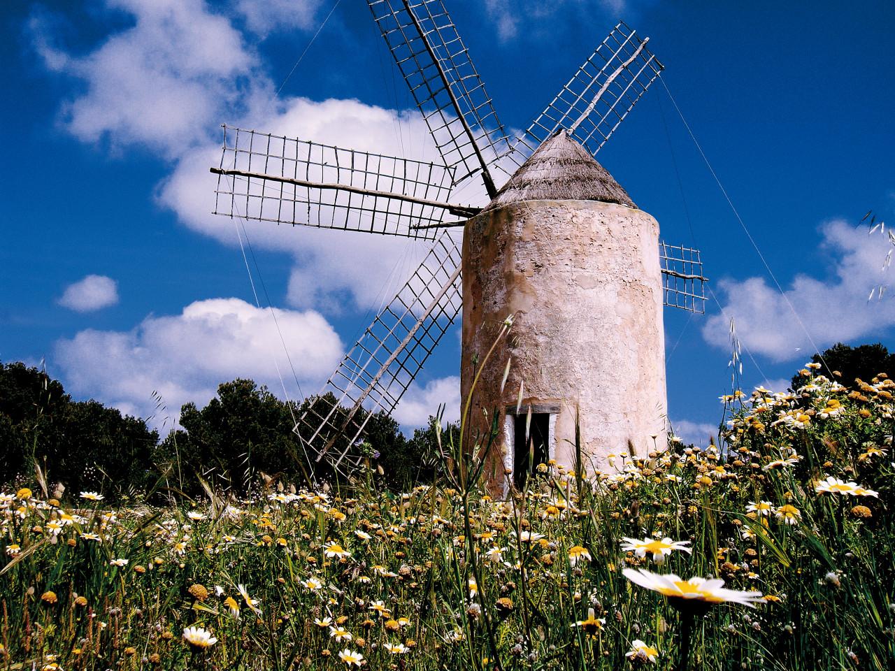 Molí Vell - Vieux moulin.