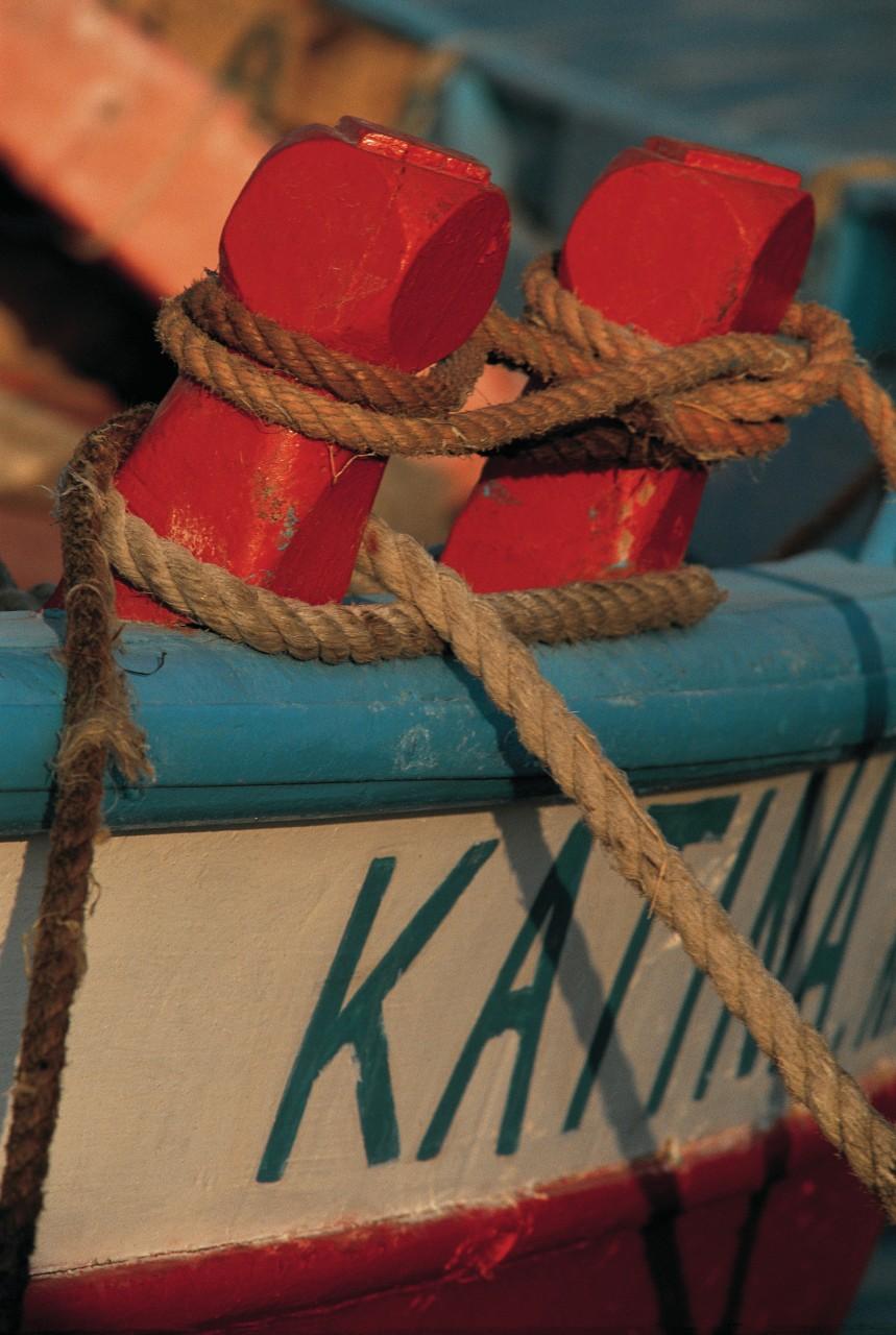 Détail de bateau de pêche. (© Cali - Iconotec))