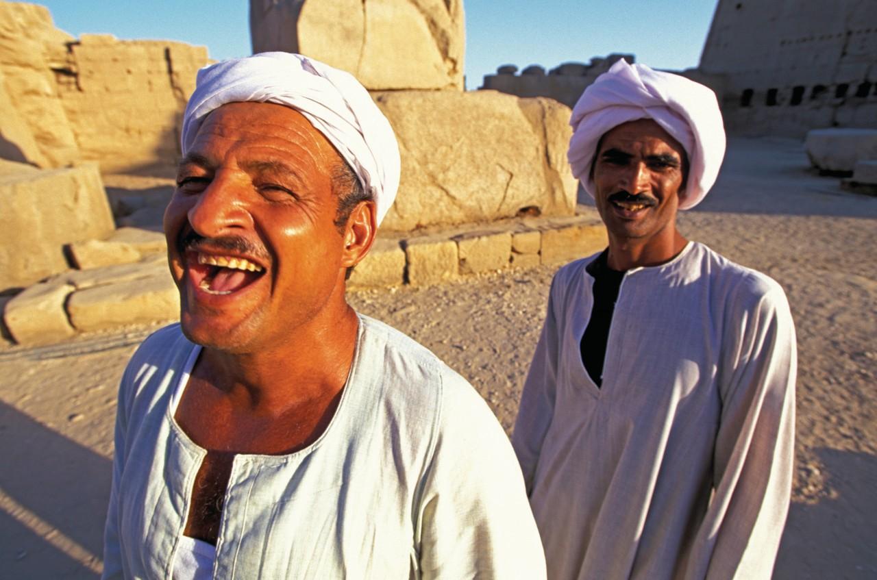 Le bonheur de vivre des Égyptiens. (© Sylvain GRANDADAM))
