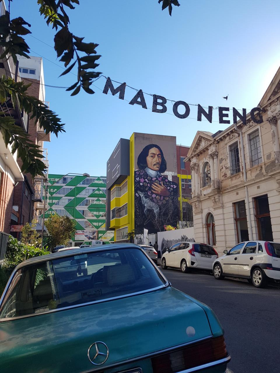 Le quartier branché de Maboneng à Johannesburg. (© Chloé OBARA))