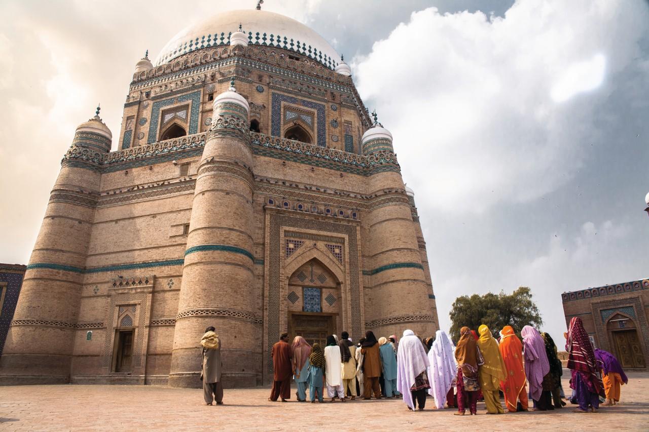 Mausolée de Baha-Ud-Din Zakariya, Multan.