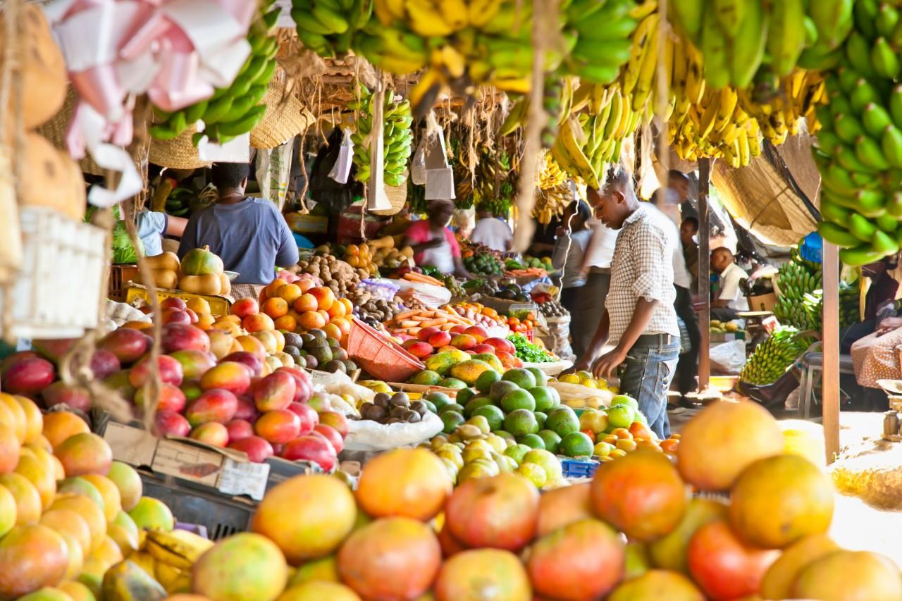 Sur le maché de Nairobi. (© Aleksandar Todorovic - Shutterstock.com))