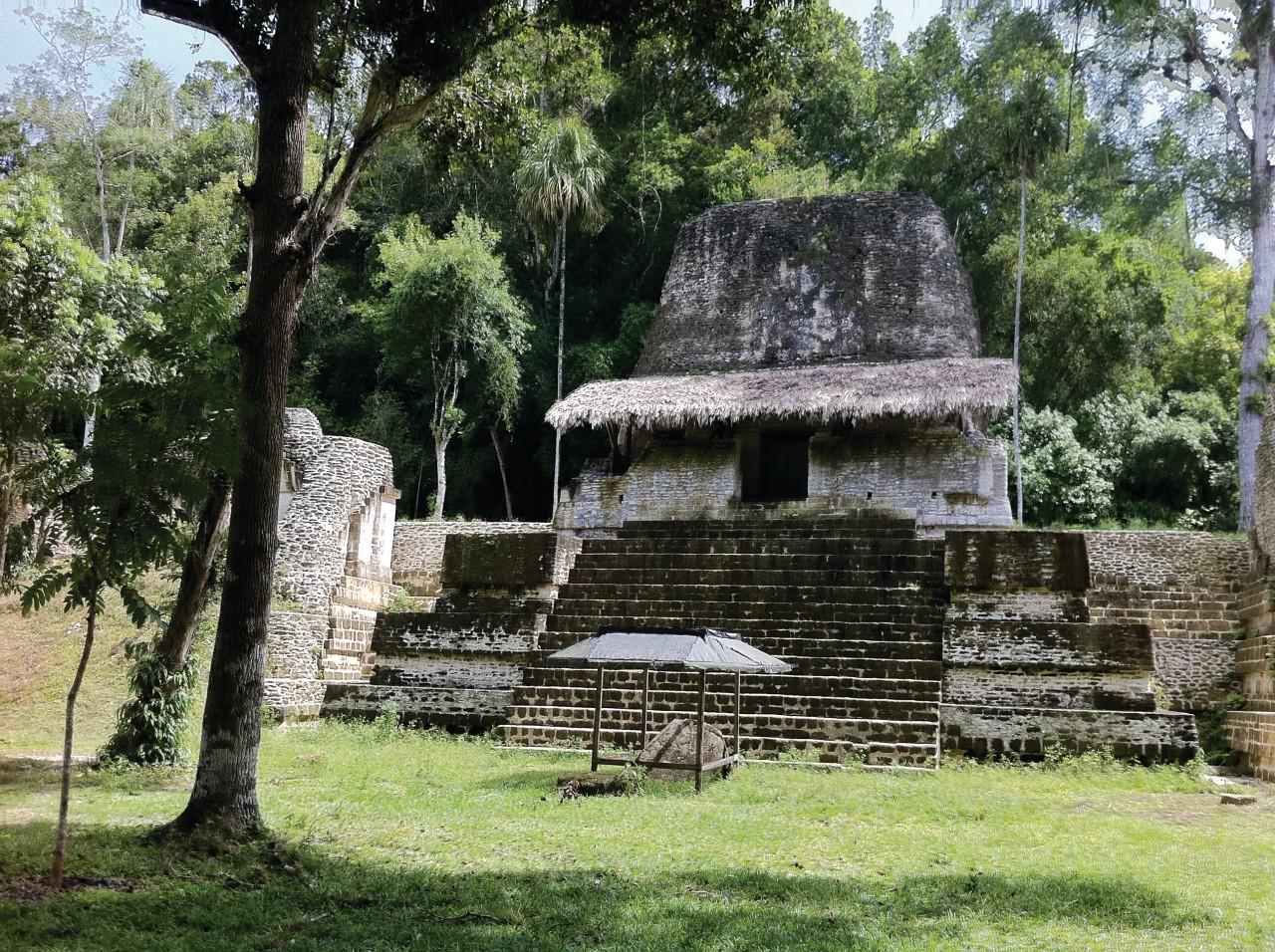 Site précolombien de Tikal. (© Abdesslam Benzitouni))