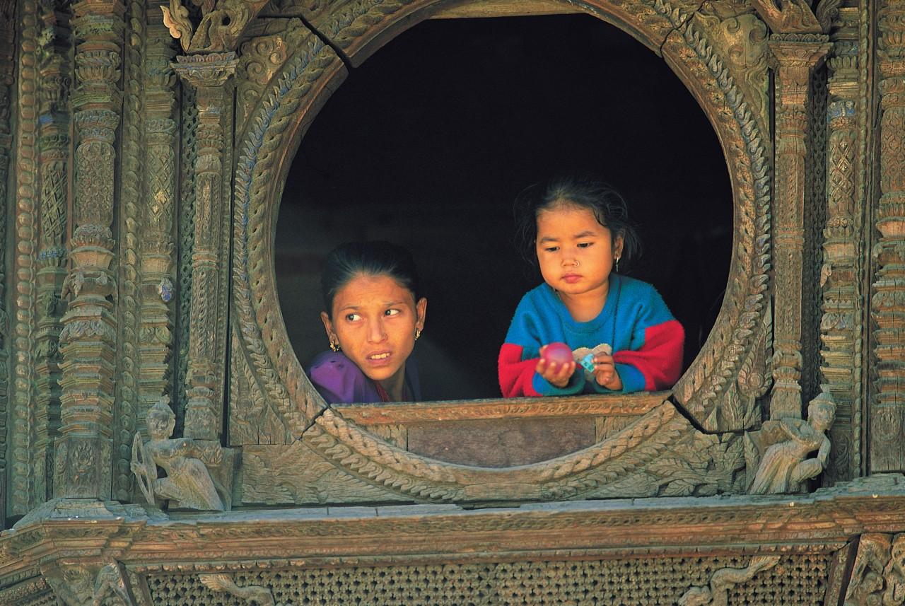 Villageoises de Patan. (© Hugo Canabi - Iconotec))