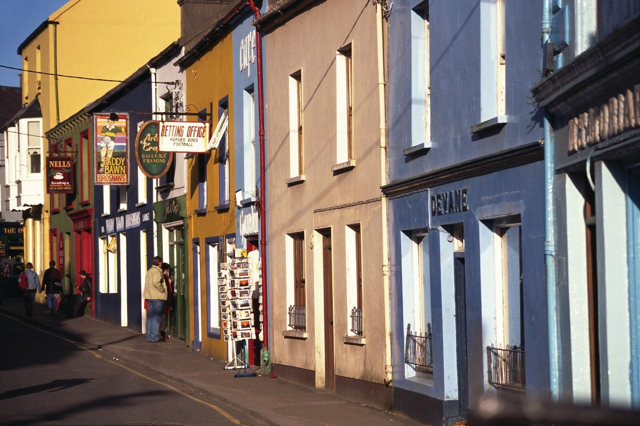 Les rues colorées de Dingle (© Author's Image))
