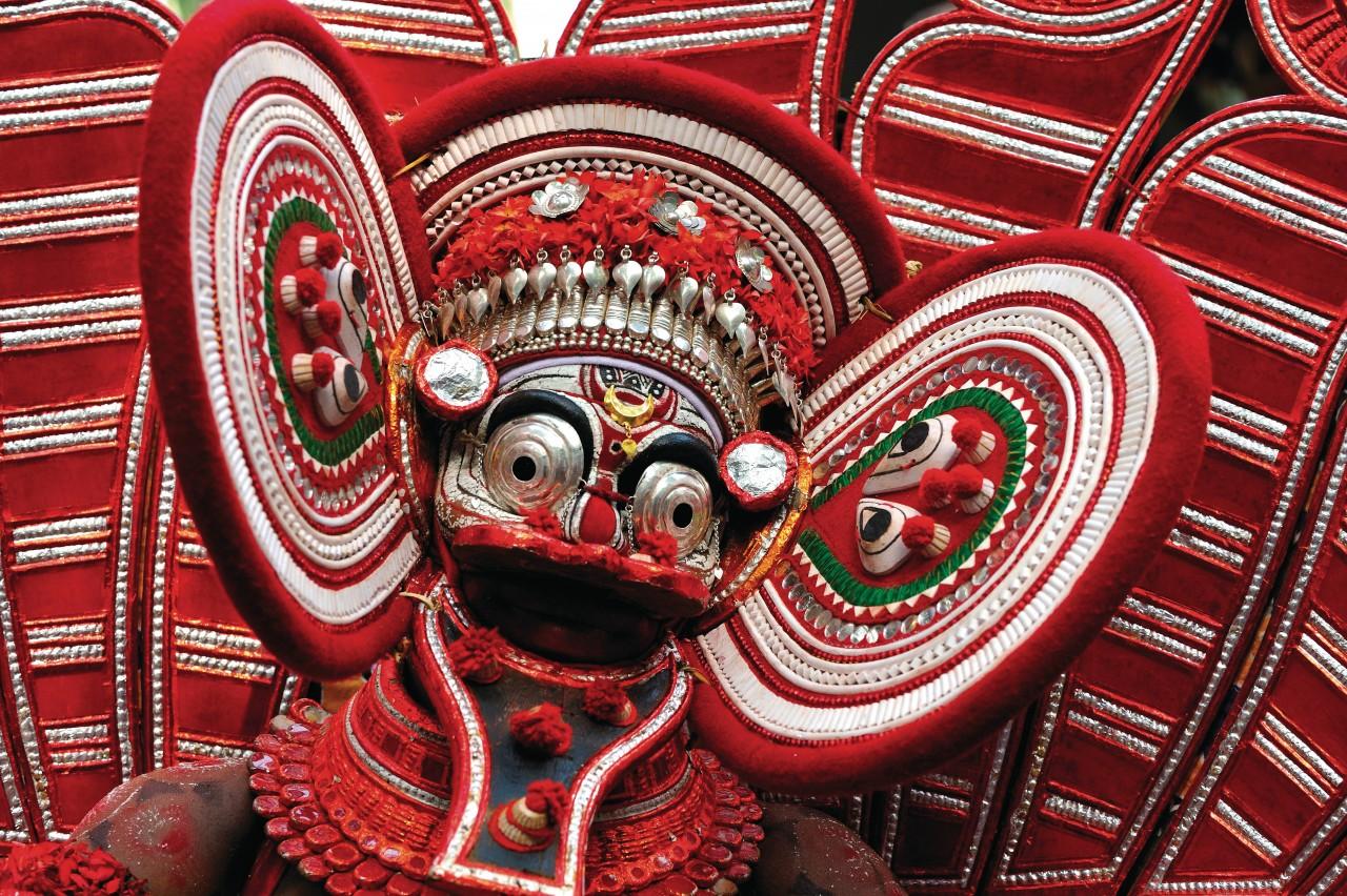 Le Theyyam, un art rituel très populaire au Kerala