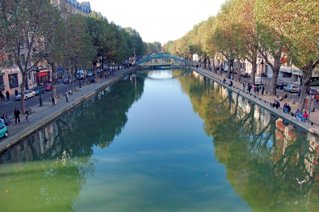 Canal Saint-Martin - Paris (© RENE DROUYER - FOTOLIA))