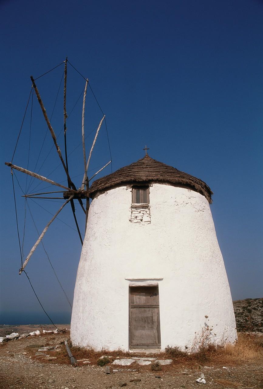 Moulin à vent de Lefkes. (© Author's Image))