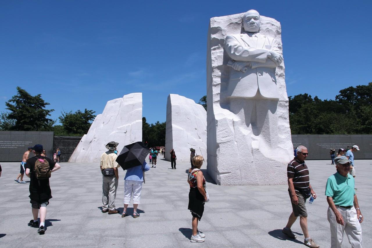 El memorial Martin Luther King en Washington.