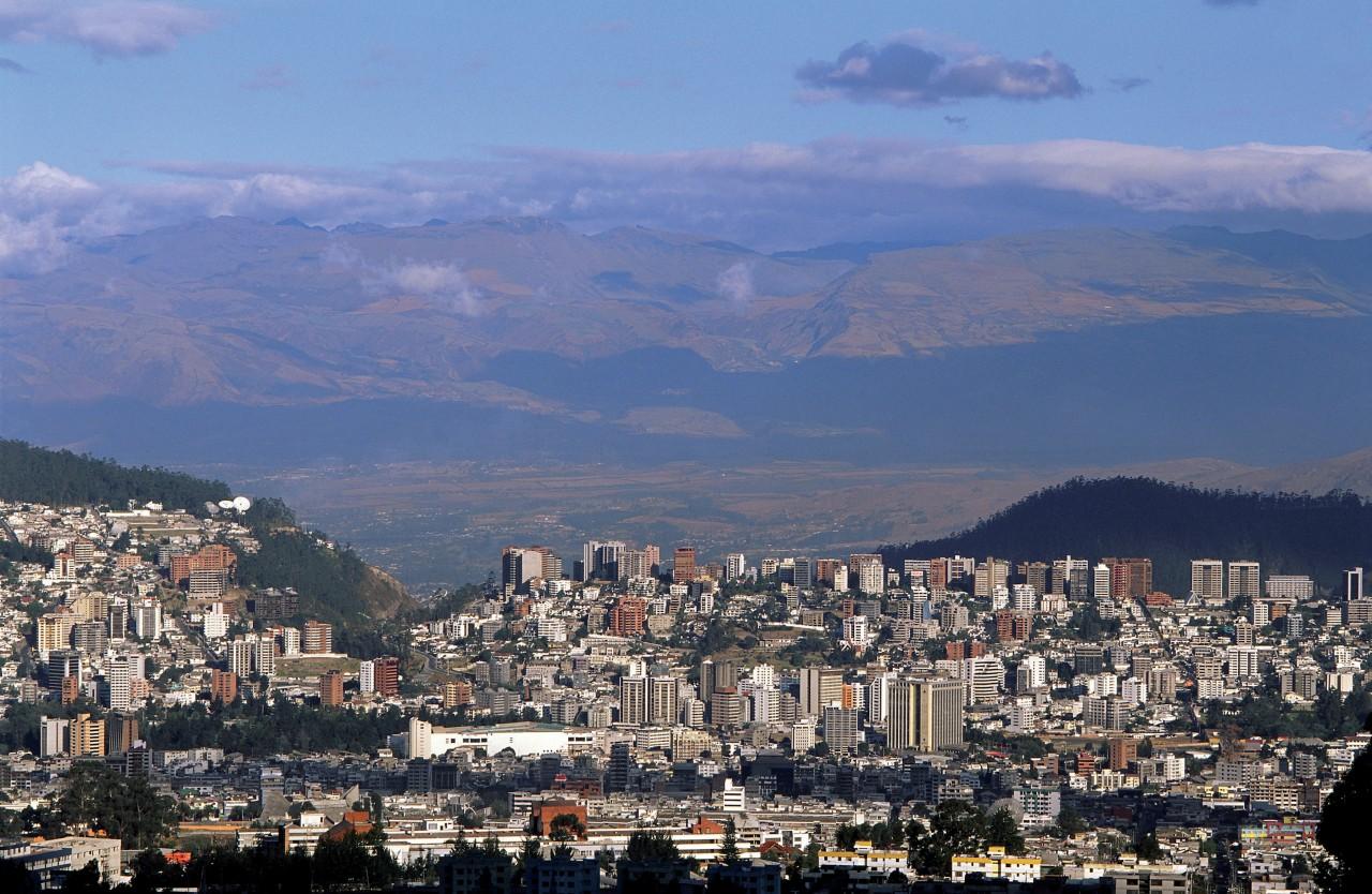 Vue générale de Quito. (© Author's Image))