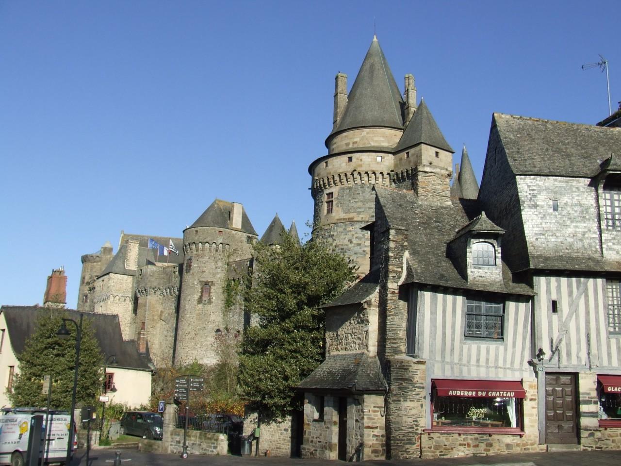Le château de Vitré. (© Laëtitia STEIMETZ))